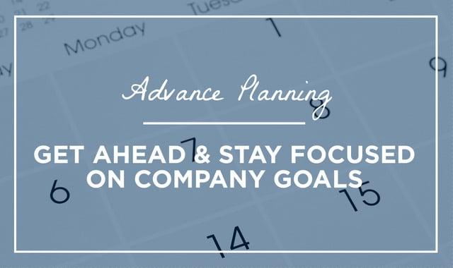 Advanced Planning (2)