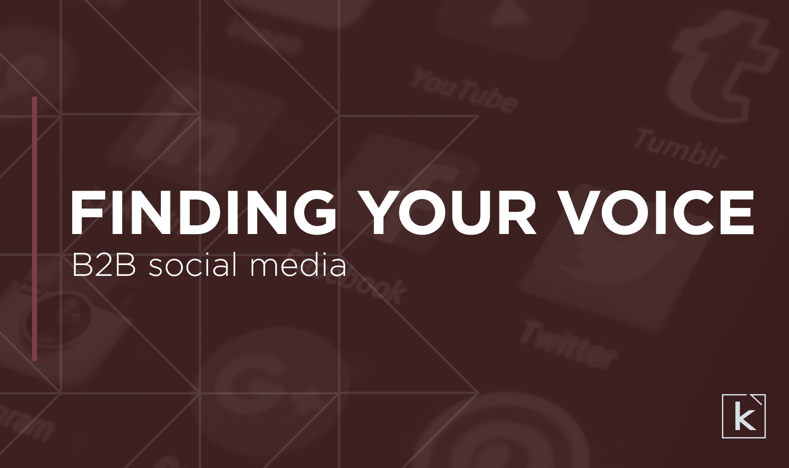 B2B-social-media-finding-your-voice