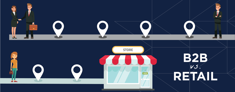 b2b-journey-vs-retail-journey-illustration