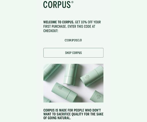 corpus-welcome-email-screenshot