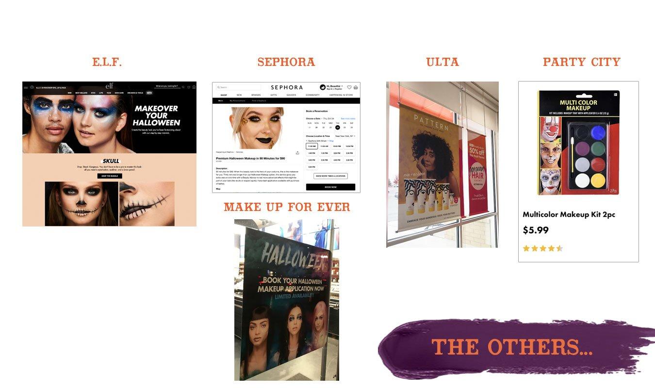 elf-sephora-ulta-party-city-halloween-makeup-collage