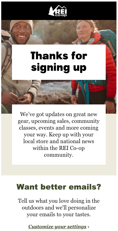 REI-welcome-email-thanks-for-signing-up