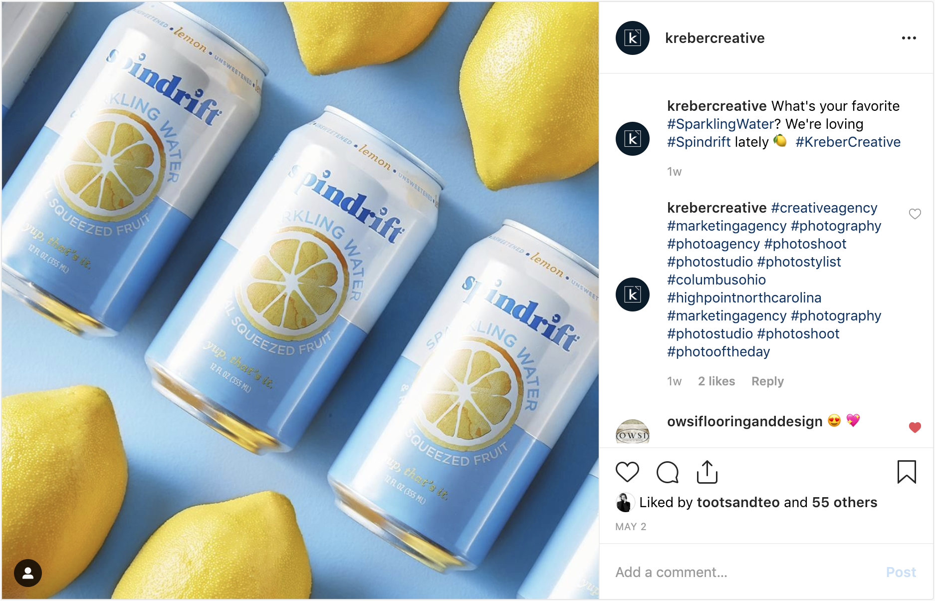 instagram-screenshot-spindrift-sparkling-water-lemons