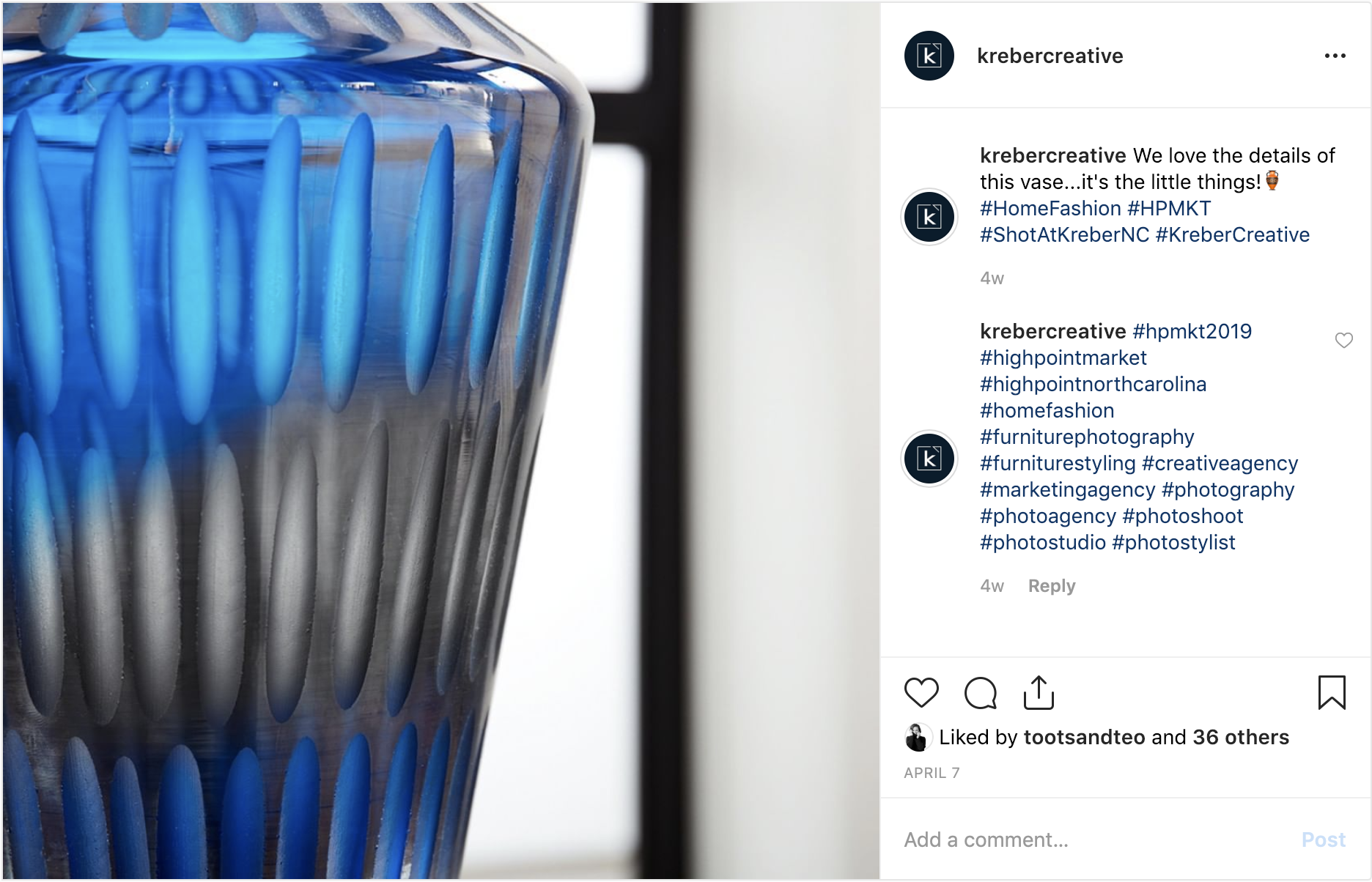 instagram-screenshot-closeup-blue-black-translucent-vase