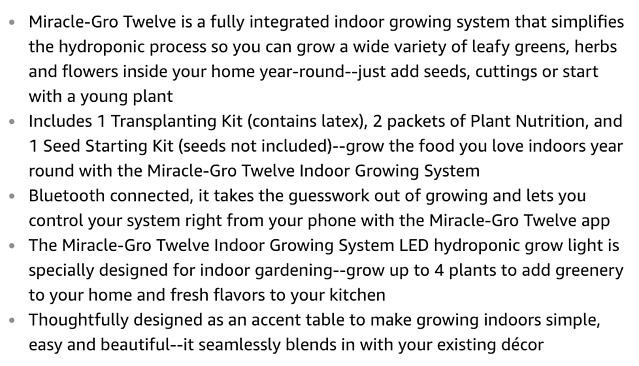 miracle-gro-twelve-product-description-bullets-amazon-product-page