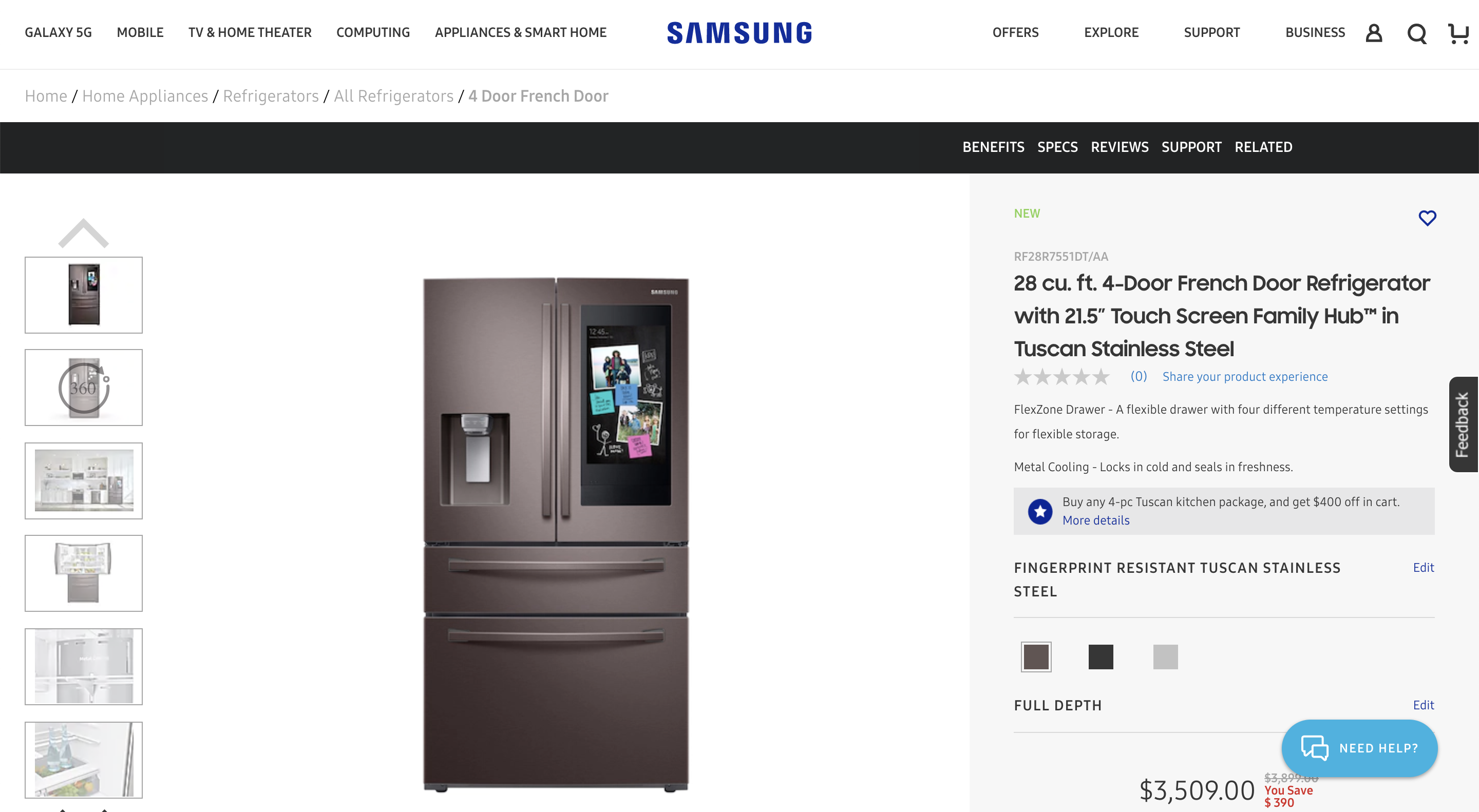 samsung-french-door-refrigerator-product-detail-page