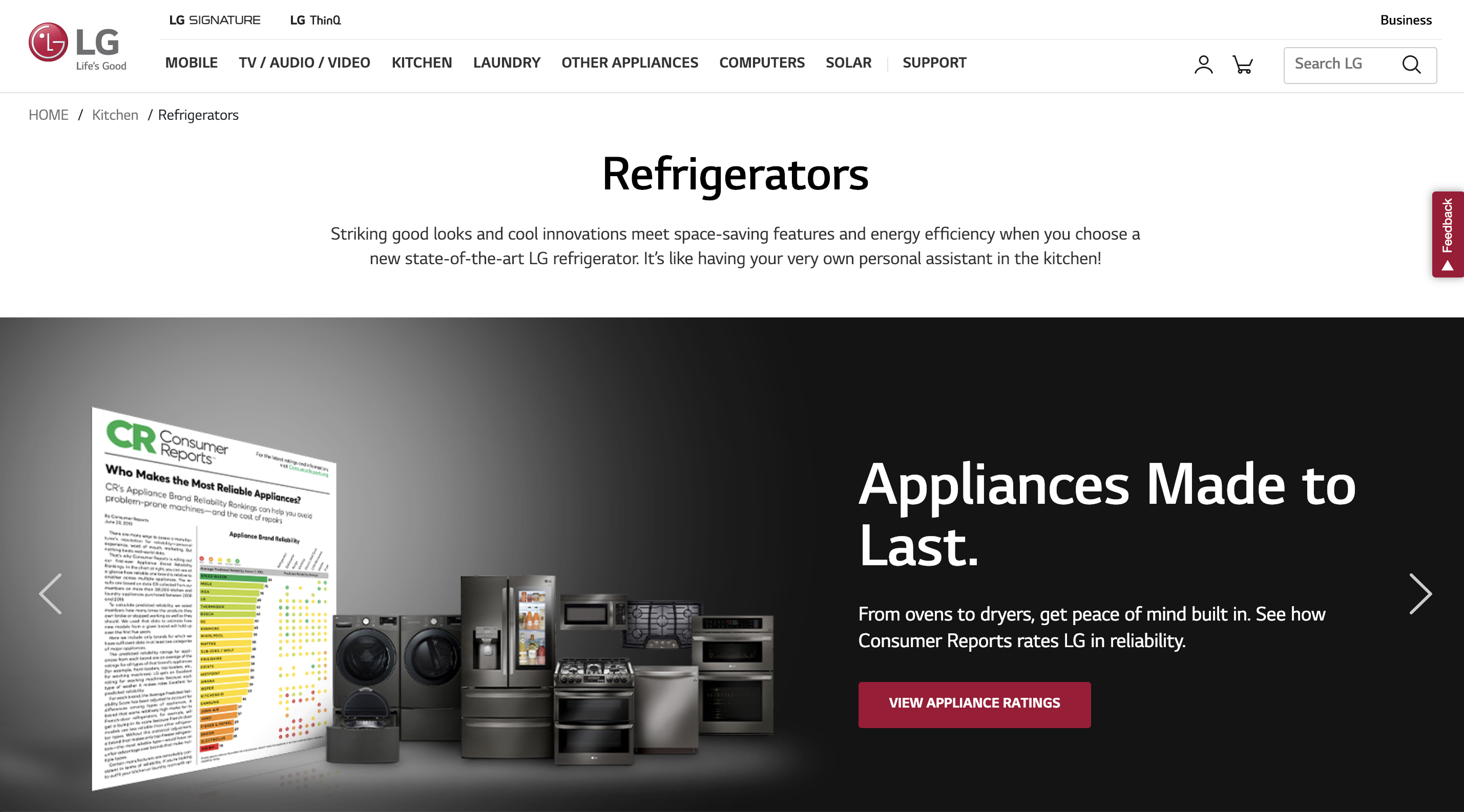 LG-refrigerators-category-page-appliance-ratings-hero