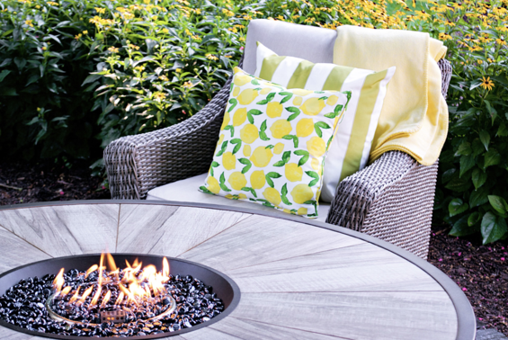 outdoor-chair-pillows-blanket-fire-pit