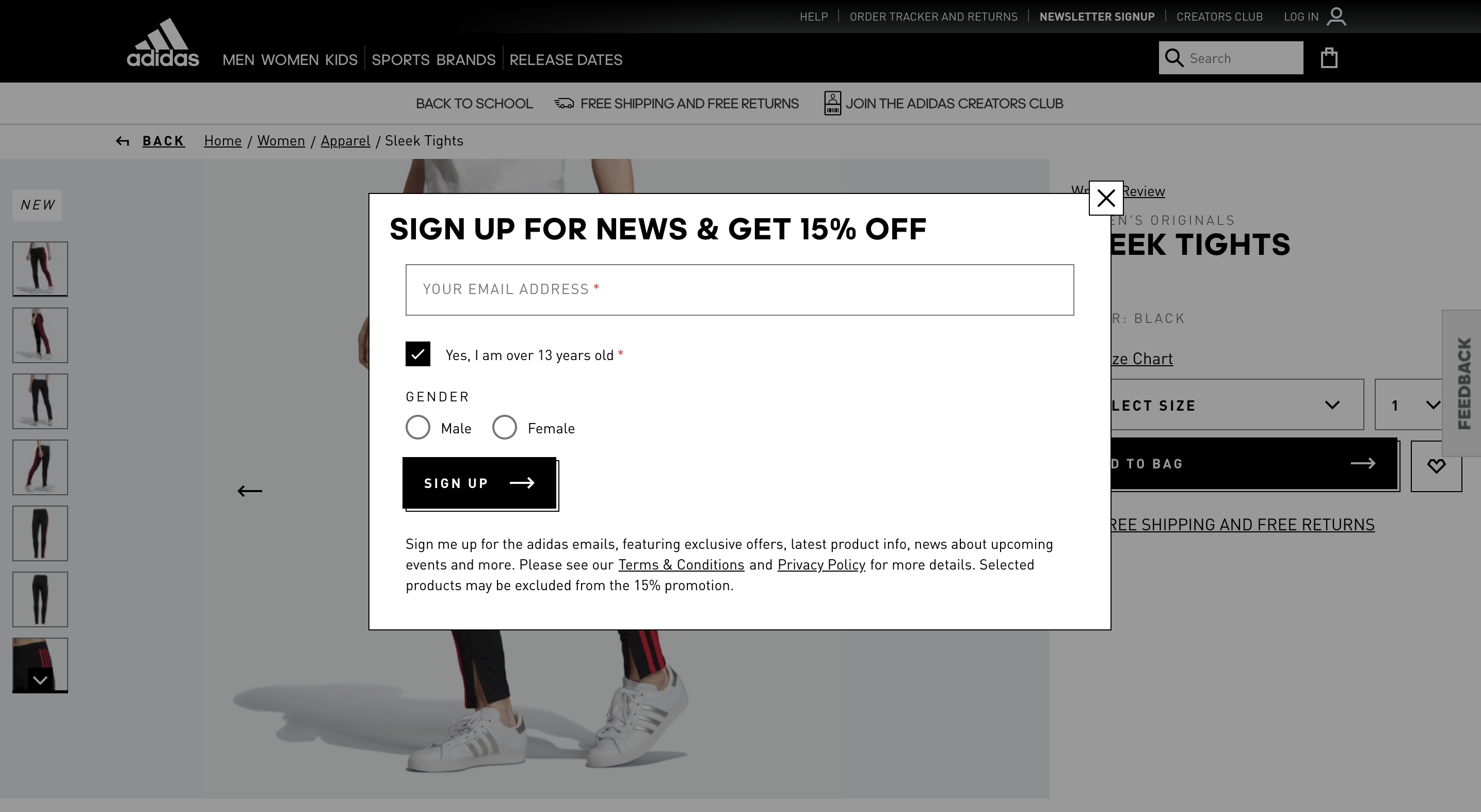 adidas-pdp-email-sign-up-discount