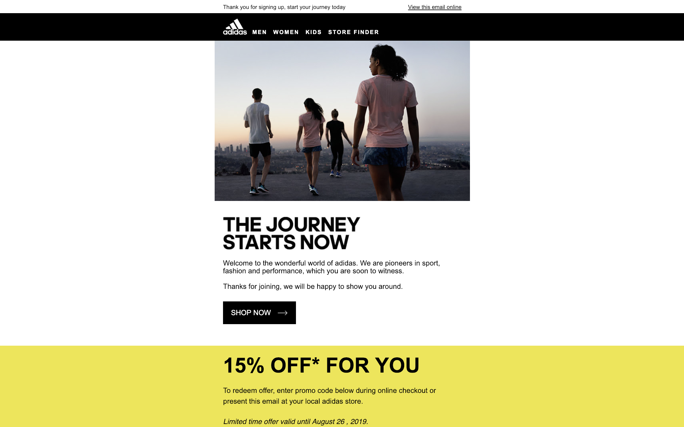 adidas-welcome-email-discount