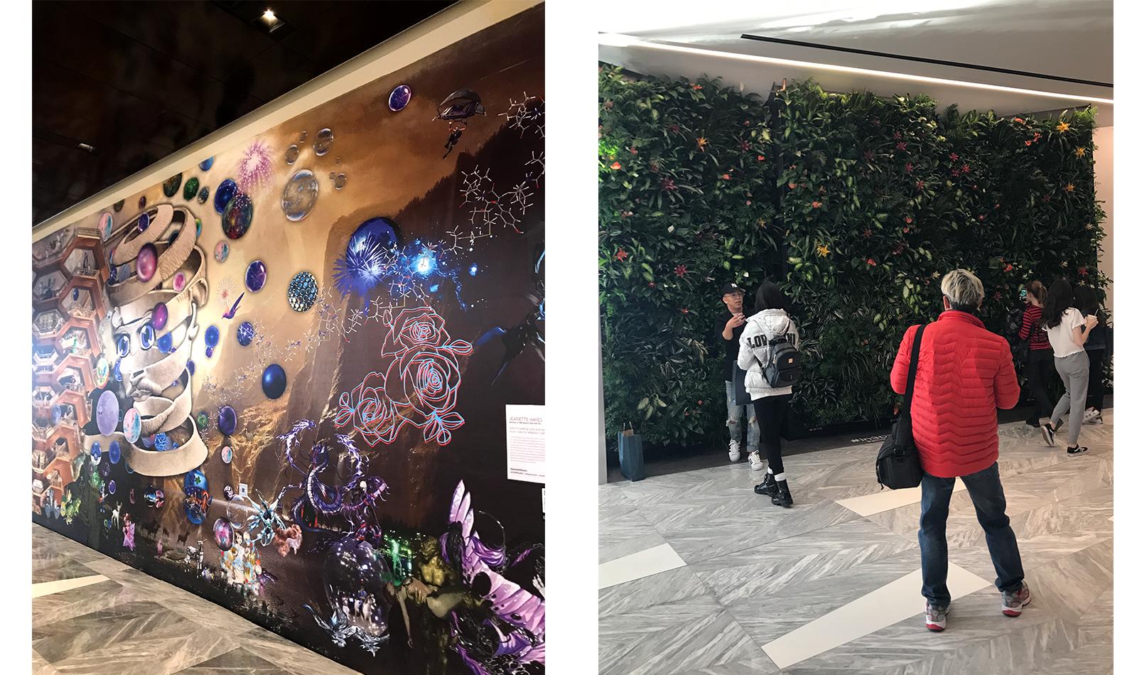 art-installations-plant-wall-selfie