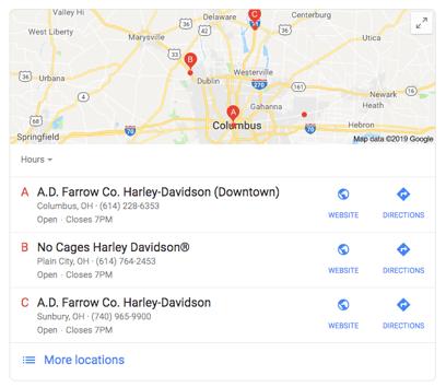 harley-davidson-local-pack-google-result