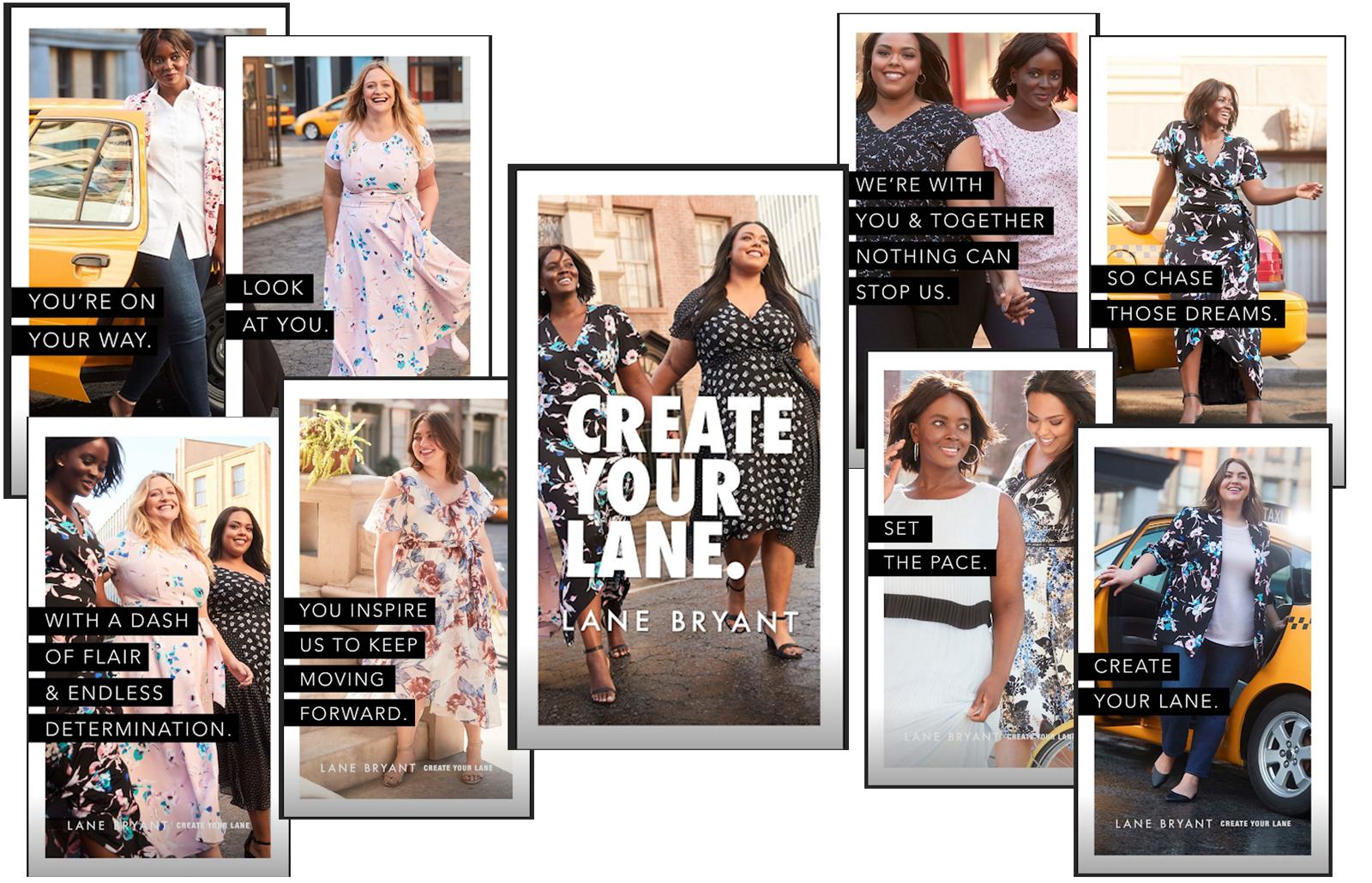 lane-bryant-instagram-stories-collage