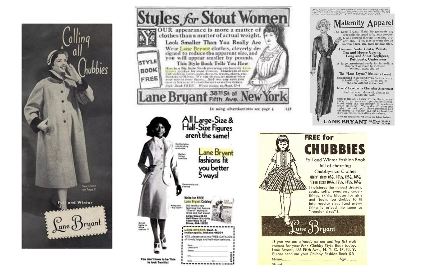 lane-byrant-collage-vintage-ads