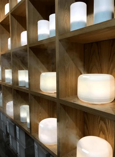 muji-shelves-essential-oil-humidifiers