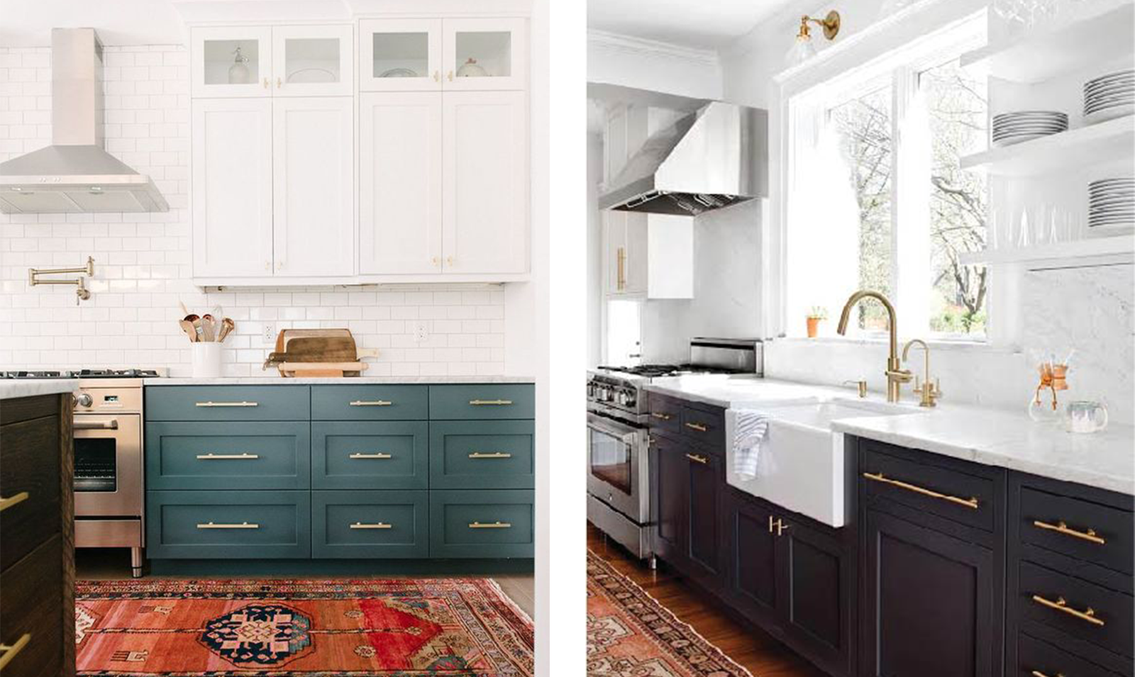 white-kitchens-with-teal-and-navy-cabinets